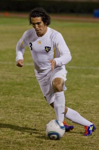 Freshman defender Juan Monge Solando played all 90 minutes Wednesday night.