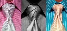 Haciendo nudos de corbata