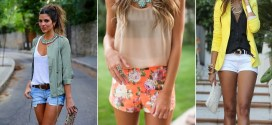 Blusas de moda 2015 para adolescentes y el short