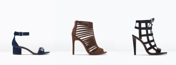 Colección de zapatos de Zara