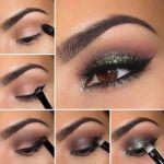 Maquillaje con glitter