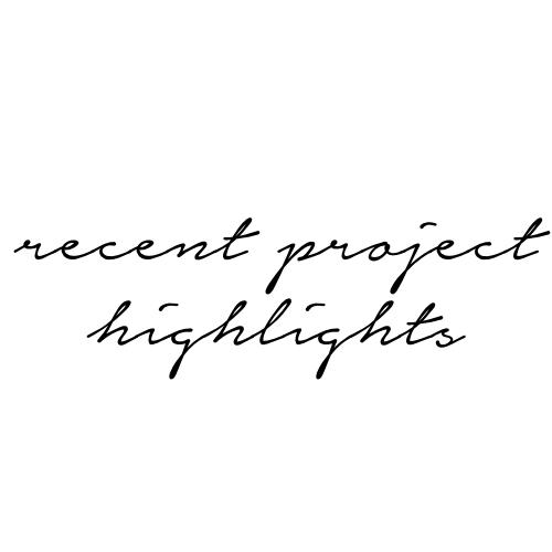 recentprojecthighlights