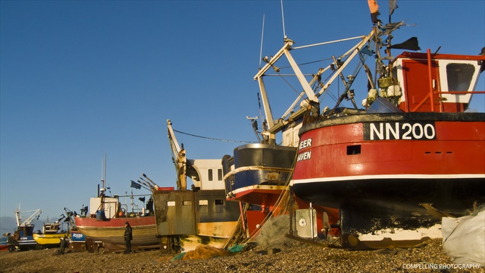 Hastings Fishing Fleet Seascape Photography Landscape Hastings Fishing Fleet East Sussex Beach