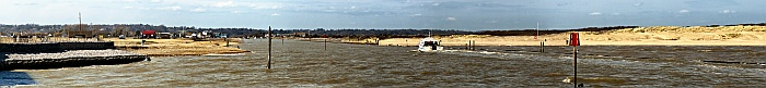 Rye Harbour Entrance Panorama