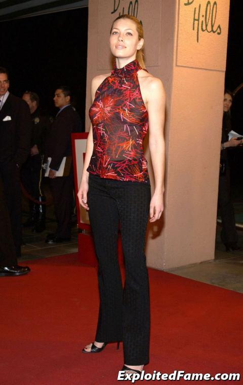 Jessica Biel Hollywood Slender Athletic Actress Doll Female