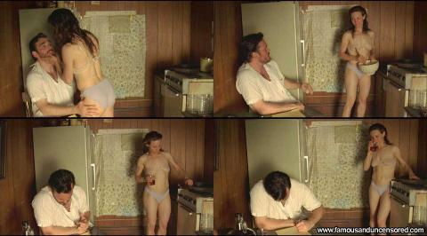 Lili Taylor Nude Sexy Scene Factotum Kitchen See Through Hat