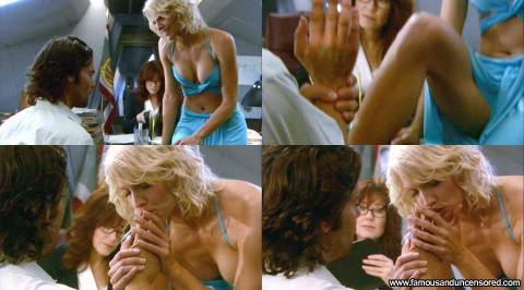 Tricia Helfer Nude Sexy Scene Battlestar Galactica Desk Babe