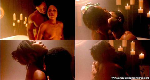Monica Calhoun Nude Sexy Scene Trois 2 Pandoras Box Bathroom