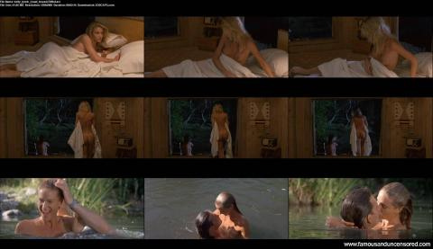 Kelly Lynch Nude Sexy Scene Road House Tanned Bar Bed Famous