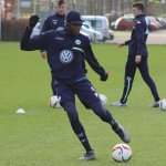 Osimhen To Join Wolfsburg In 2017, Trains With First Team