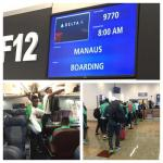 Olympic Eagles Finally Depart For Brazil, Vow To Beat Japan