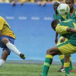 10-Man South Africa Hold Neymar-Led Brazil