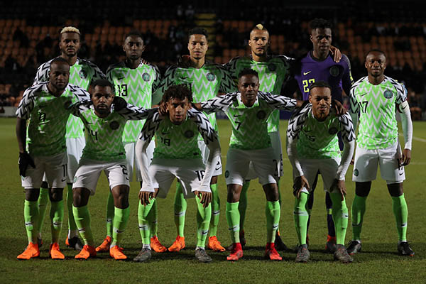 Image result for super eagles team photo vs poland