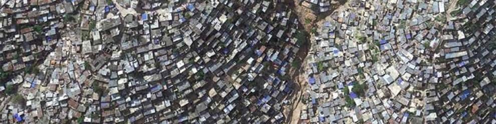 Abitanti di Port-au-Prince Haiti