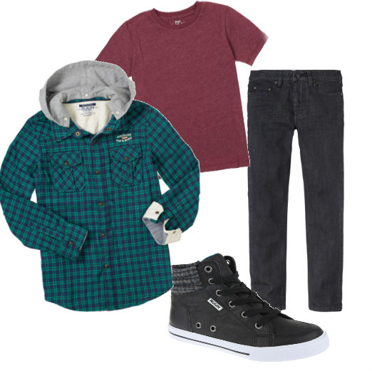 Ruum Kids Back To school boys trends grunge 2013