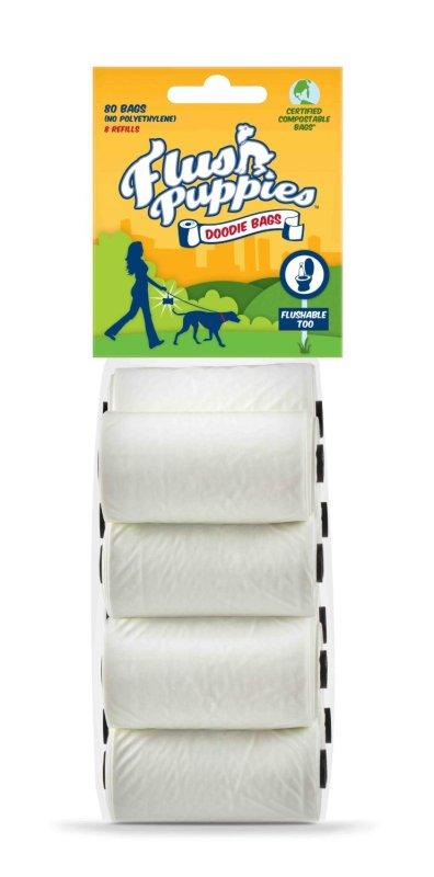 flush puppies dog poop bags