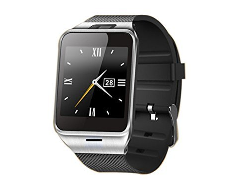 Develop-Aplus-NFC-Smartwatch-Smart-Bluetooth-Watch-with-13M-Camera-15-TFT-LCD-Display-MTK6260A-CPU-Support-NFC-Function-Micro-SIM-card-Bluetooth-wristWatch-Smartwatch-for-Apple-iOS-and-Android-Phone-B-0