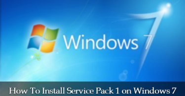 how to install service pack 1 on windows 7