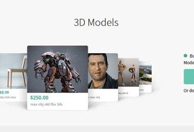 Sell 3D Models