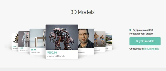 How To Sell 3D Models For Fun And Profit
