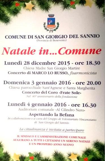 Concerto di fisarmonica alla Chiesa Madre lunedì 28 dicembre alle ore 18