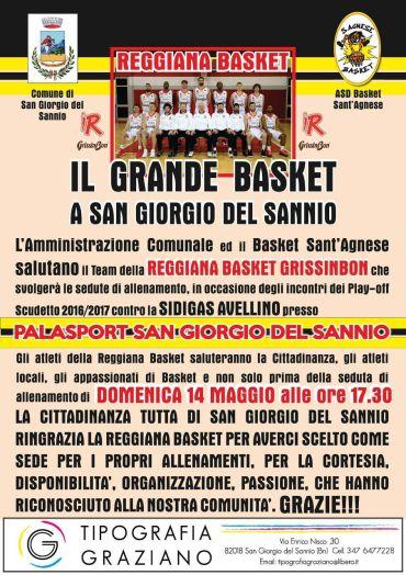 Il grande basket a San Giorgio del Sannio