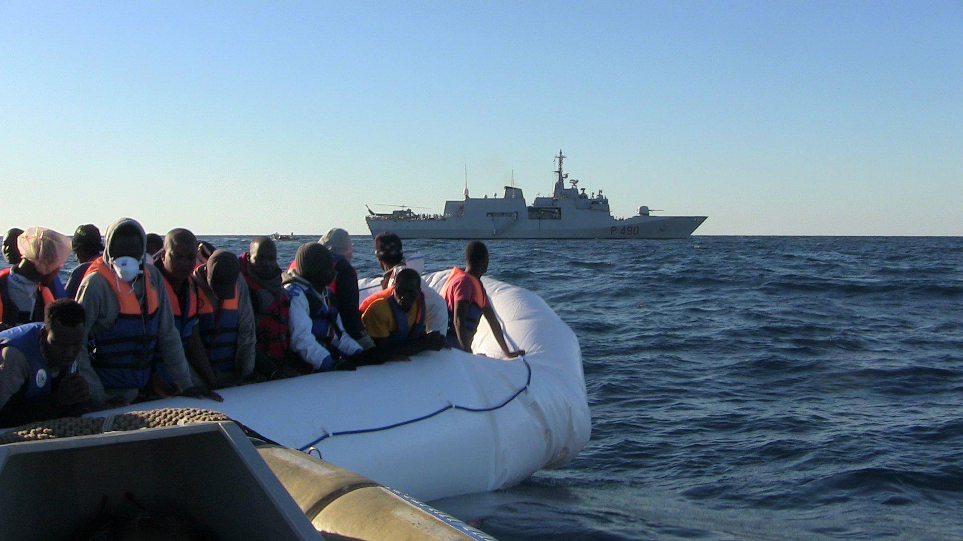 Alla Marina Militare Italiana Riconoscimento per le Numerose Vite Salvate in Mare