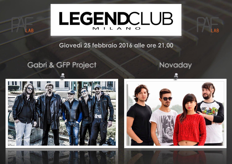 A Milano Esclusivo Concerto Live di Gabri & Novaday