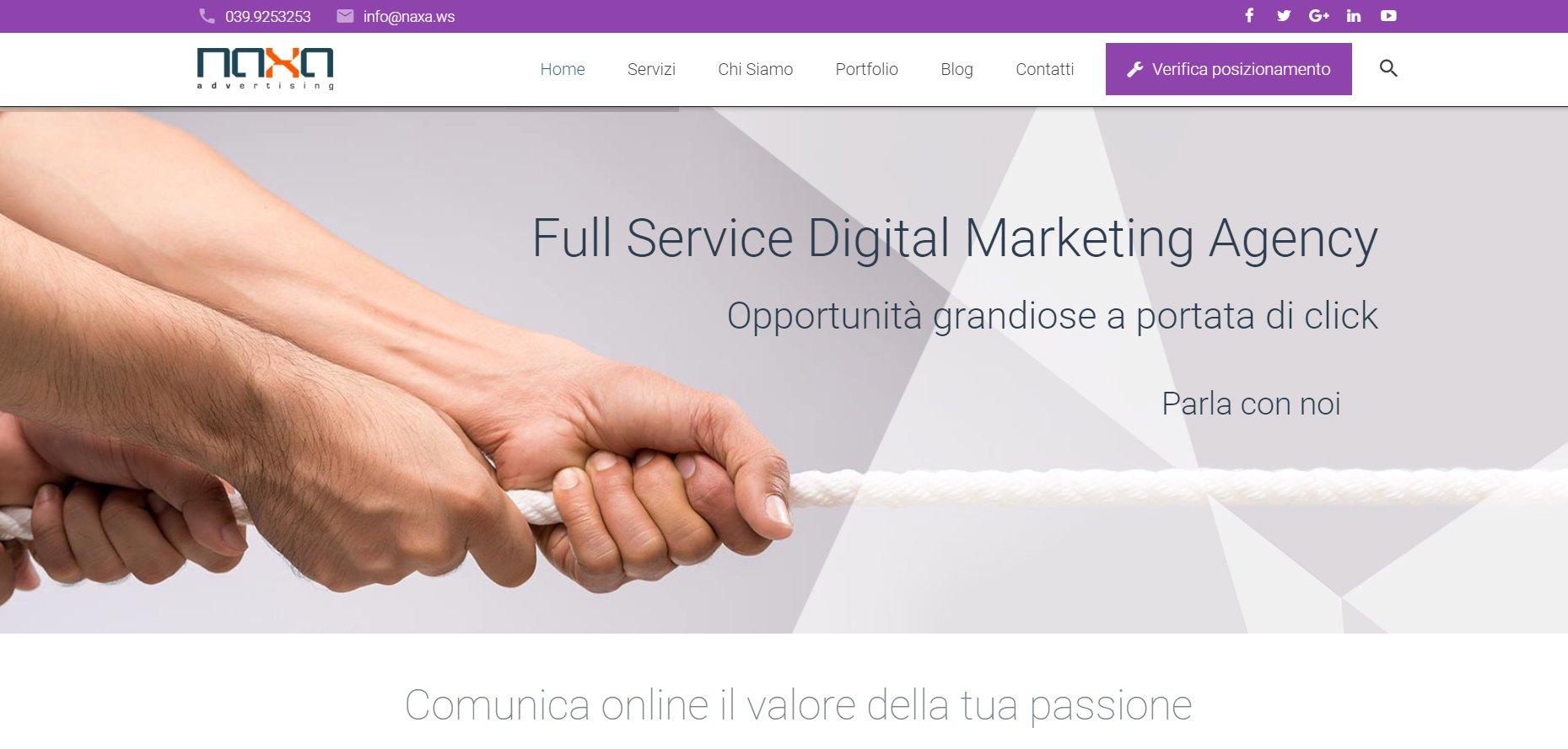 Digitalizzazione: Da Naxa Nuove Tecnologie e Tools per Migliorare le Perfomance Online delle Aziende