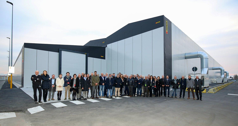 Per Lamborghini nuovo magazzino all'avanguardia da 12.000mq