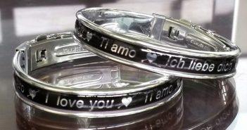 braccialetto ti amo bandelli line