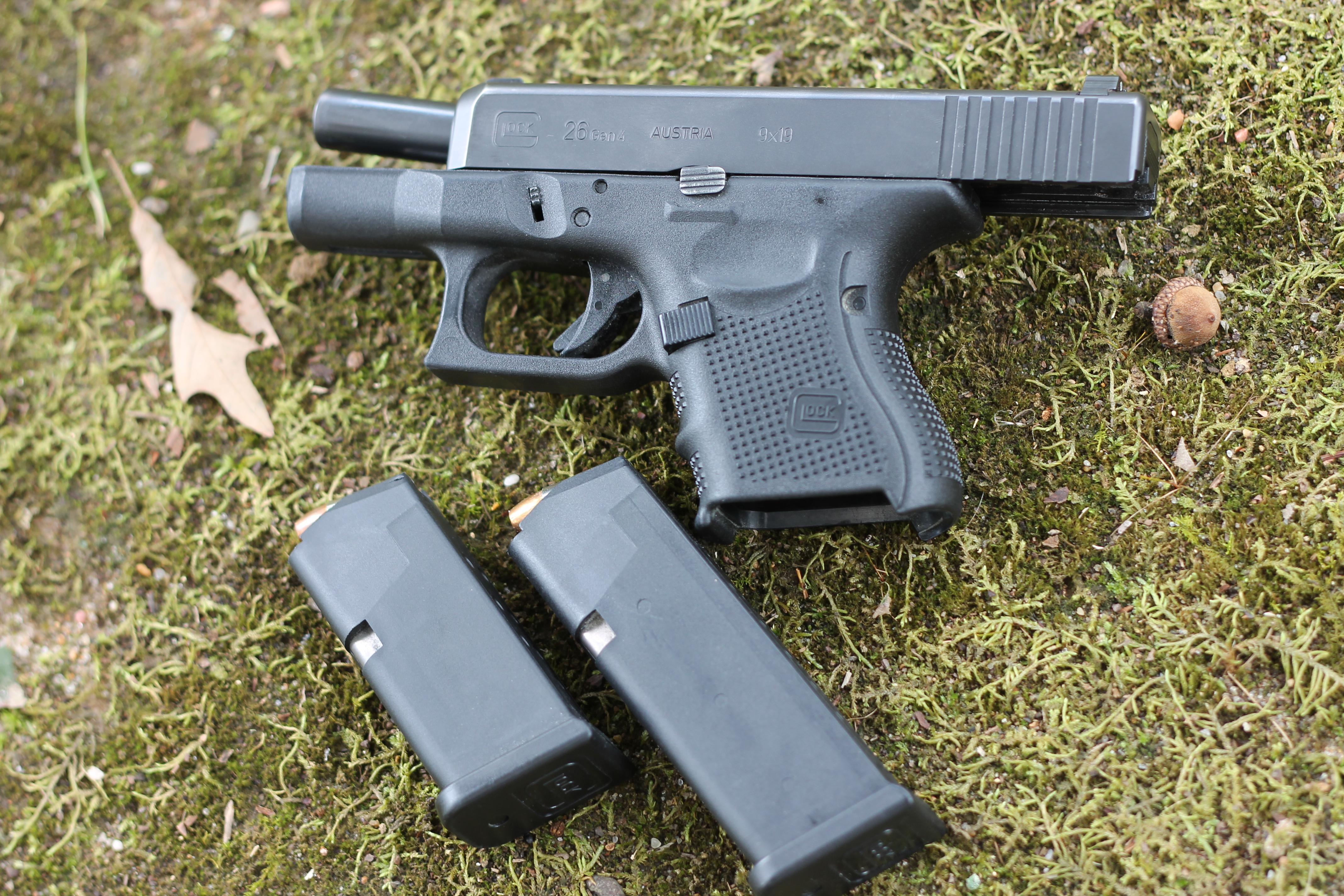 Glock 26 Gen 4 Concealed Carry Handgun Review