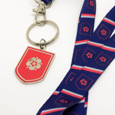 Rossall School, Rose House: Lanyard and Keyring