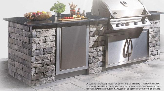 cuisine ext rieure d une valeur de 9000 avec bbq concours du jour. Black Bedroom Furniture Sets. Home Design Ideas