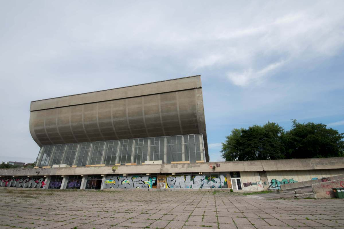 Soviet Architecture in Vilnius, Lithuania