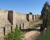 Muralla de la alcazaba de Mérida
