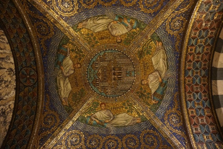 Civitatis Dei (Home of God), a beautiful mosaic
