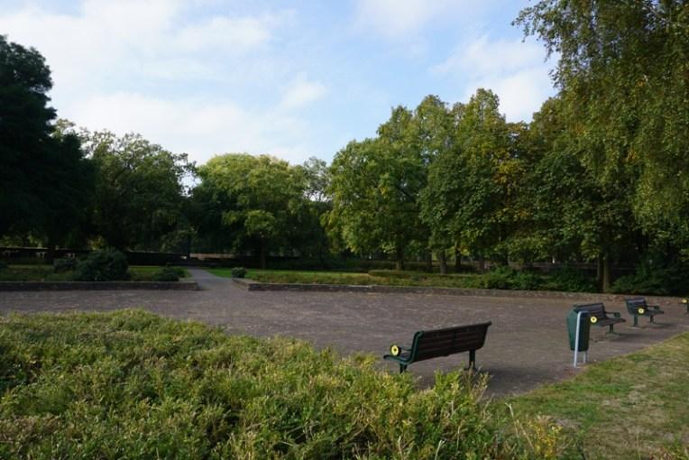 Salah satu taman di Naarden