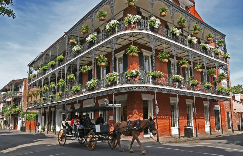 New Orleans and South Springtime