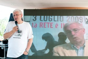 Michele Vianello, Vice-Mayor of Venice, speaking at BateoCamp