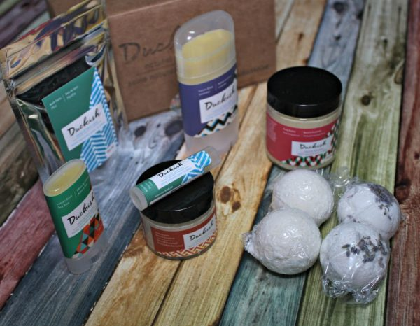 Soothing skin with natural skin care products from Duckish - a local Nova Scotian company
