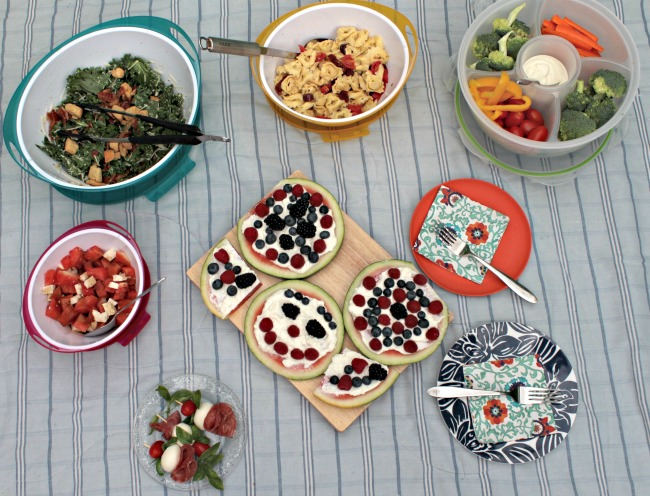 Healthy Summer Entertaining Ideas For Canada Day, 4th of July, Family Get Togethers and Picnics!