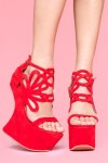 Glam-Aholic Footwork: Jeffrey Campbell's Invisible Wedge