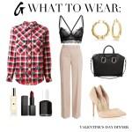 What To Wear: Valentine's Day Dinner