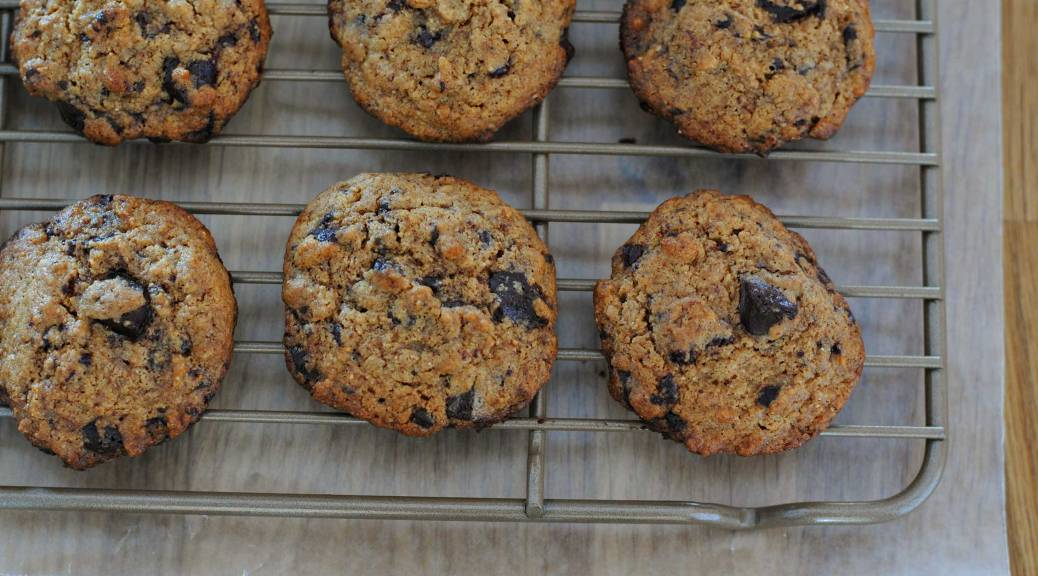 Cashew Butter Chocolate Chip Cookies | Confessions of a Midnight Baker