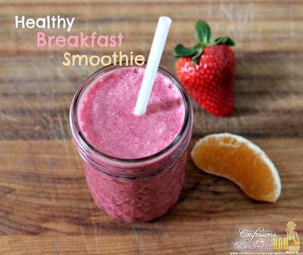 Paleo Simple Breakfast Smoothie