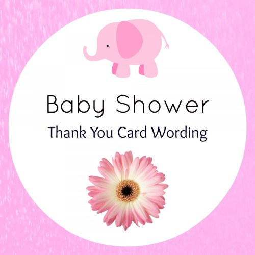Medium Of Bridal Shower Thank You Cards