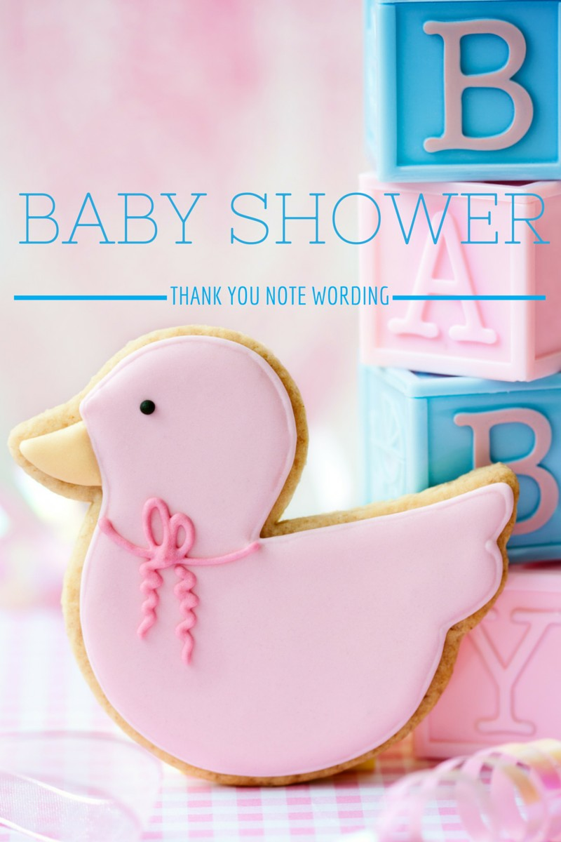 Large Of Baby Shower Thank You Wording