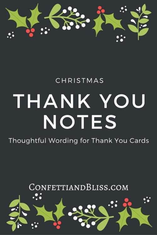 Medium Of Christmas Thank You