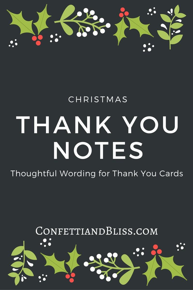 Large Of Christmas Thank You